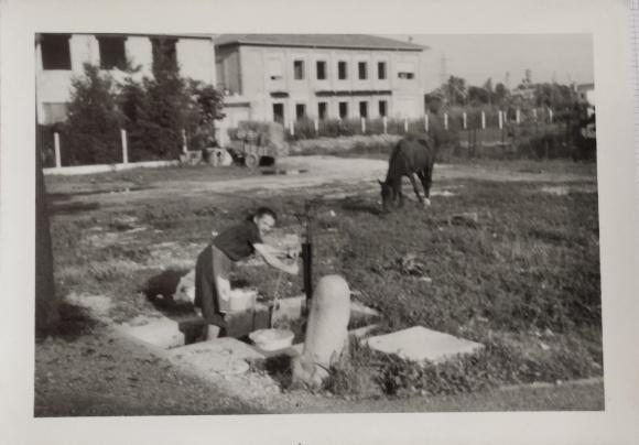 CUCCIOLODiRUSPA | la nonna Maria e la pompa dell'acqua a Campo San Martino