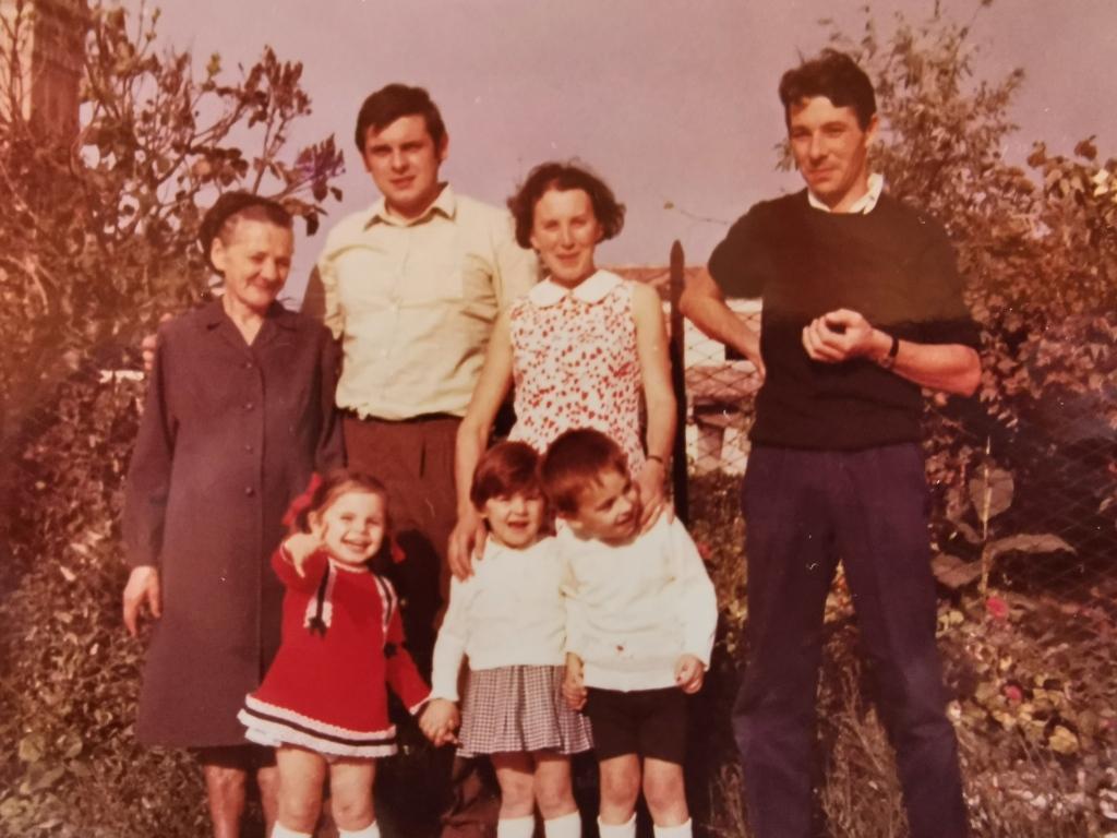 Famiglia fine anni '60
